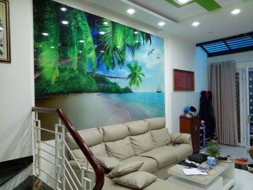 tranh kính 3d phòng khách