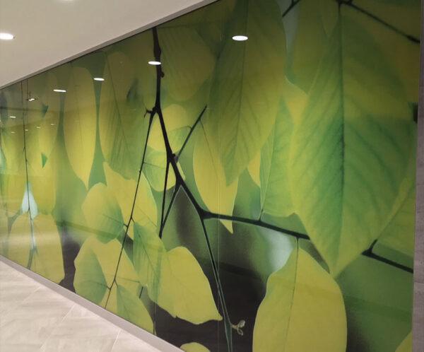 tranh kính ốp tường